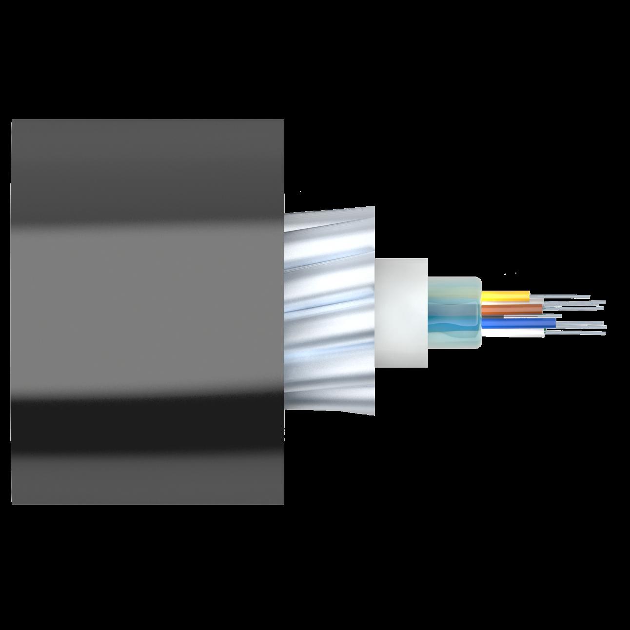 Кабель оптический Alpha Mile для канализации, 08 волокон