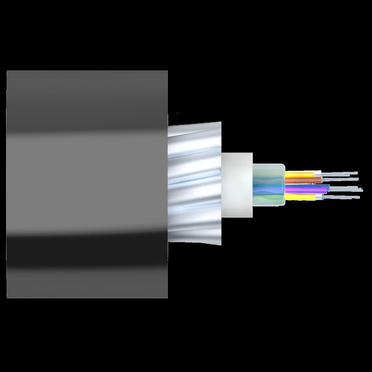 Кабель оптический Alpha Mile для канализации, 12 волокон
