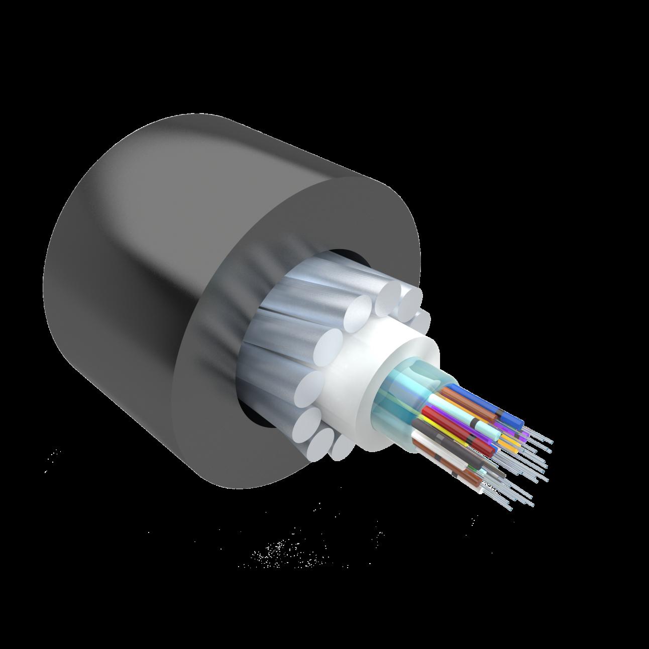 Кабель оптический Alpha Mile для канализации, 24 волокна