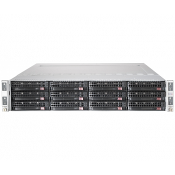 Сервер Supermicro 6026TT-BTRF, 8 процессоров Intel Xeon 4C L5520 2.26GHz, 96GB DRAM