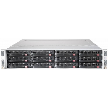 Сервер Supermicro 6027TR-DTRF, 4 процессора Intel Xeon 8C E5-2650v2 2.60GHz, 64GB DRAM
