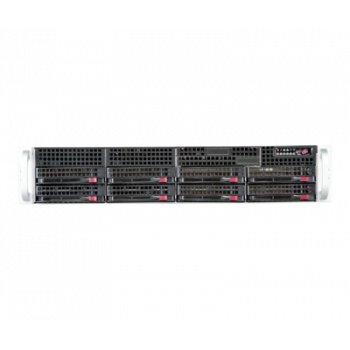 Сервер Supermicro SuperServer 6028R-WTR, 1 процессор Intel 8C  E5-2620v4 2.10GHz, 32GB DRAM
