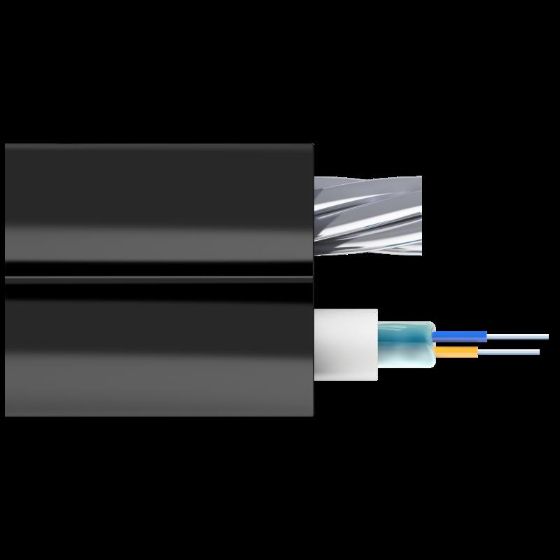 Кабель оптический Alpha Mile Mini-8, 2 волокна