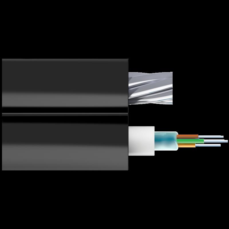 Кабель оптический Alpha Mile Mini-8, 4 волокна