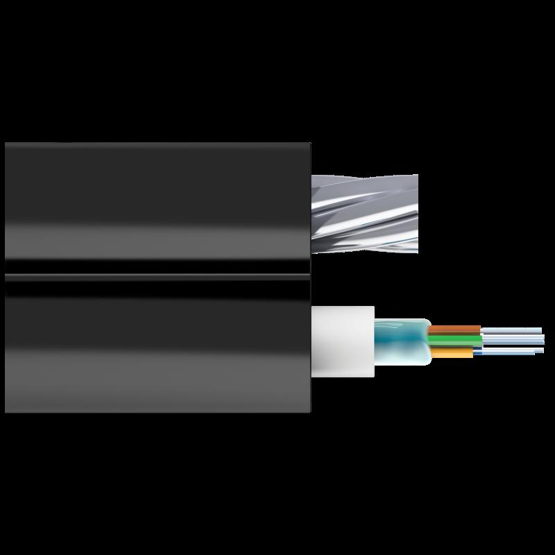 Кабель оптический Alpha Mile Mini-8, 6 волокон