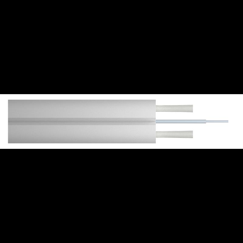 Кабель оптический Alpha Mile Flex FTTx, 1 волокно, белый