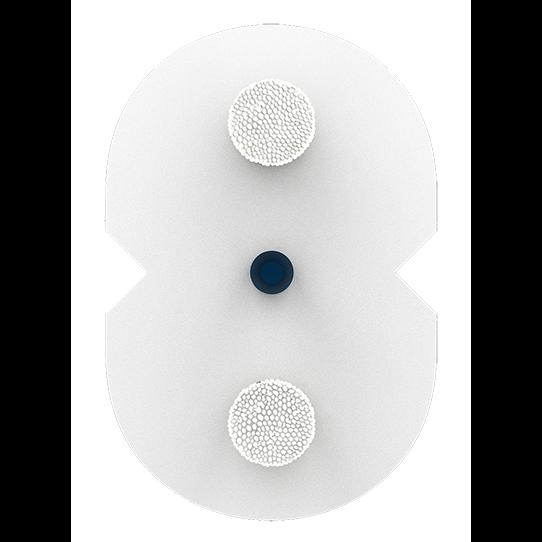 Кабель оптический Alpha Mile Flex FTTx, 1 волокно, белый, микро