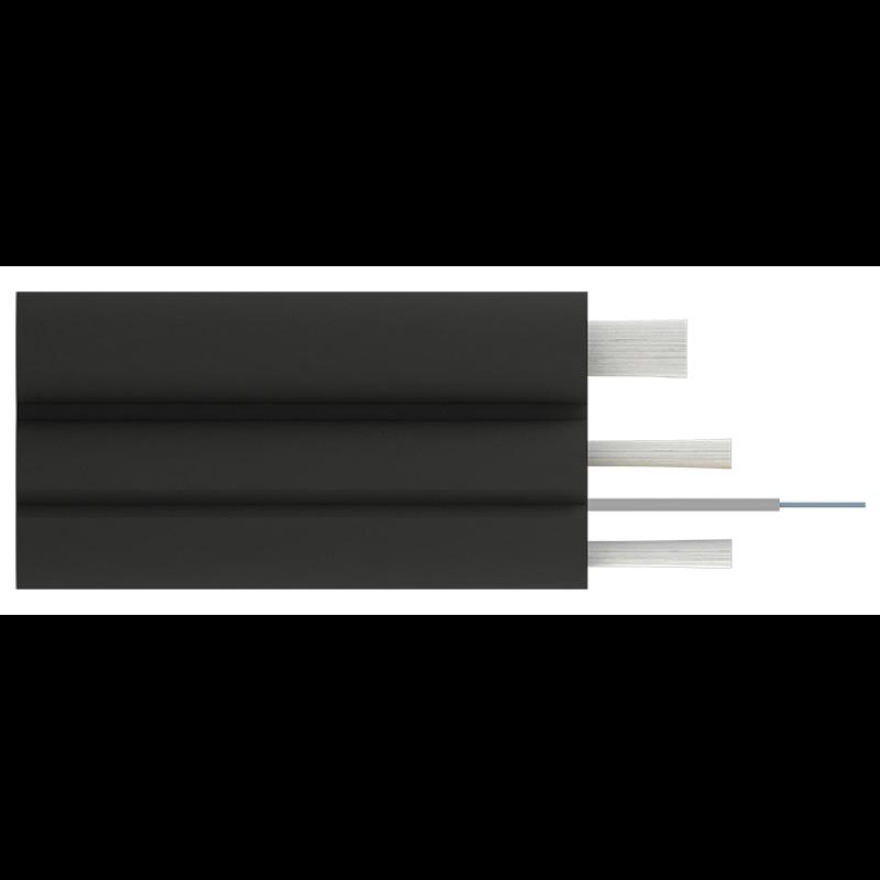 Кабель оптический Alpha Mile Flex FTTx, с дополнительным несущим элементом (FRP 1.0 мм), 01 волокно
