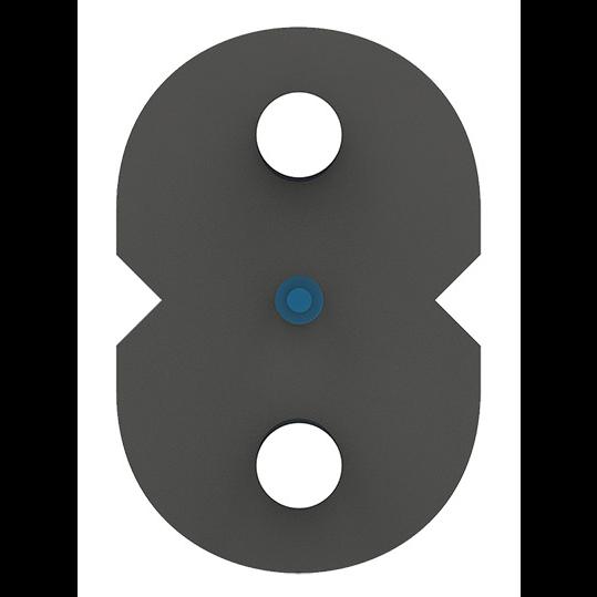 Кабель оптический Alpha Mile Flex FTTx, steel, 1 волокно 657A1
