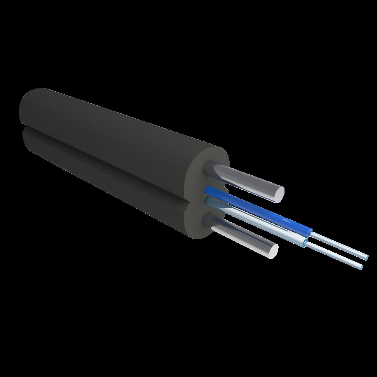 Кабель оптический Alpha Mile Flex FTTx, steel, 2 волокно 657A1
