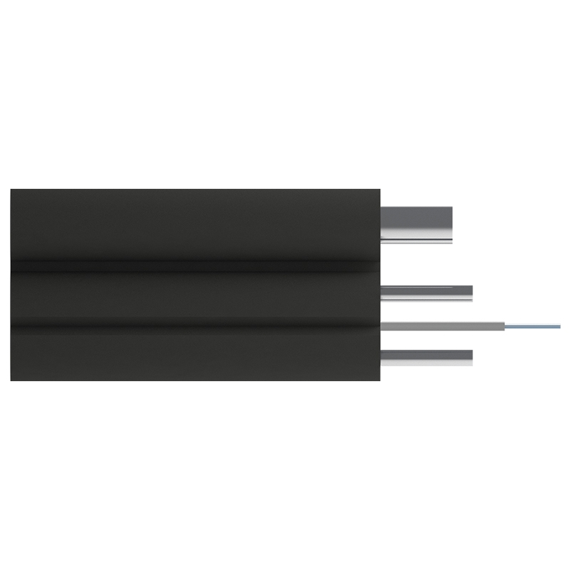 Кабель оптический Alpha Mile Flex FTTx, с дополнительным несущим элементом (проволока 1.0 мм), 1 волокно 657A1