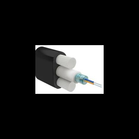 Кабель оптический Alpha Mile Flat DROP, 02 волокна