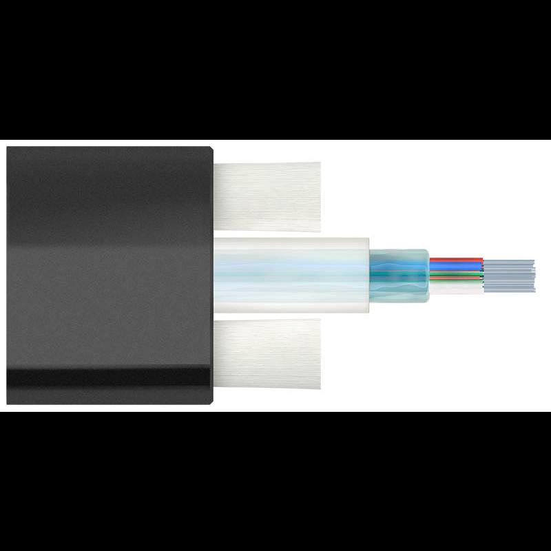 Кабель оптический Alpha Mile Flat DROP, 12 волокон