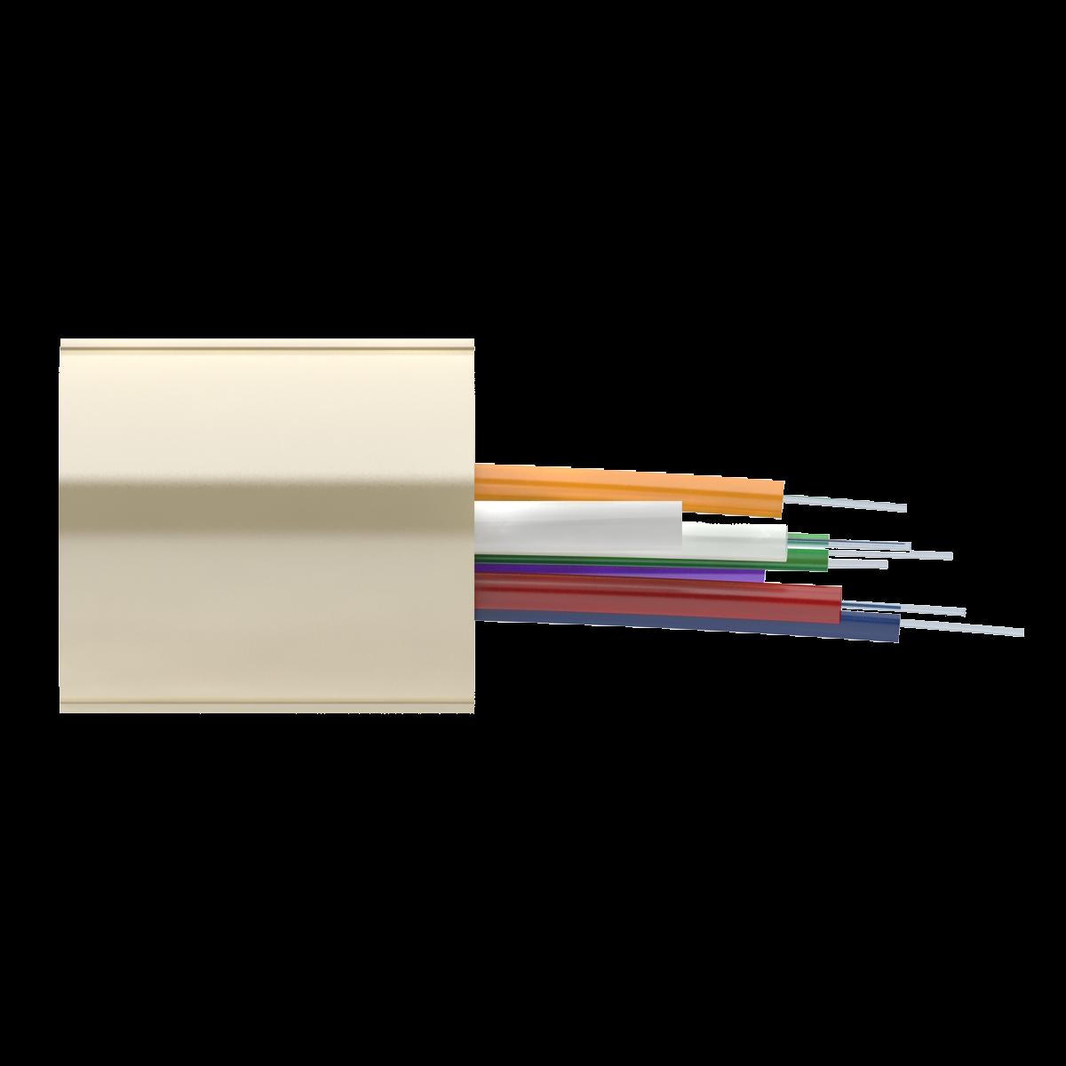 Кабель оптический Alpha Mile RISER, 06 волокна Corning Ultra G.652D, LSZH