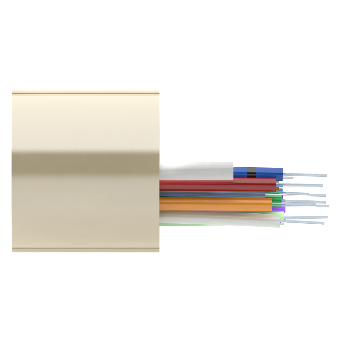 Кабель оптический Alpha Mile RISER, 12 волокна Corning Ultra G.652D, LSZH