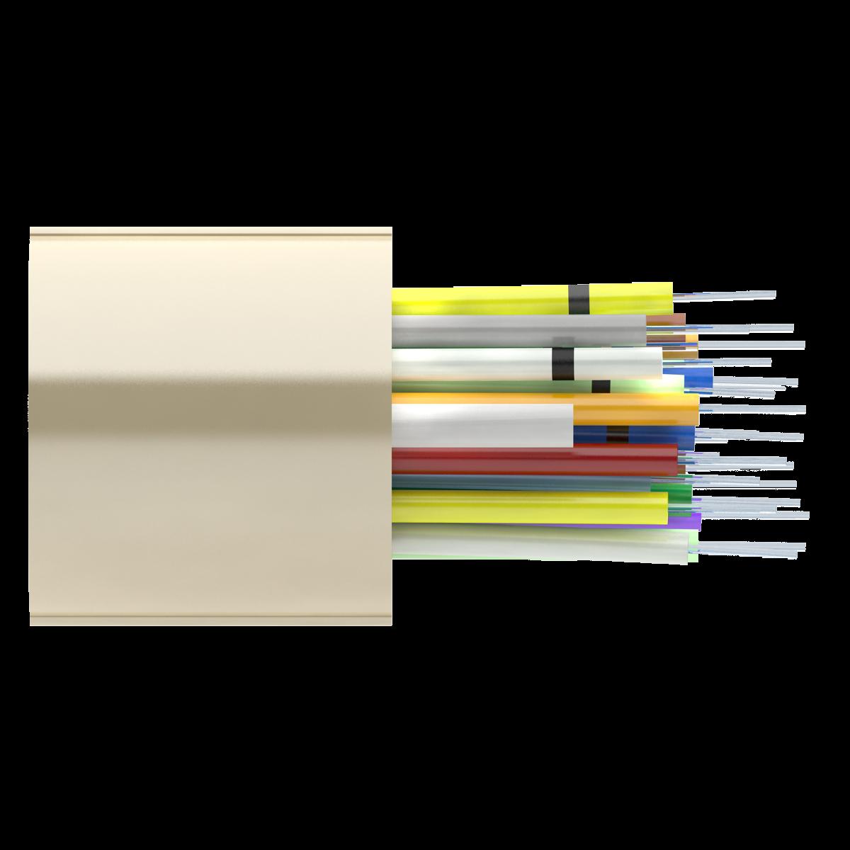 Кабель оптический Alpha Mile RISER, 42 волокна Corning Ultra G.652D, LSZH
