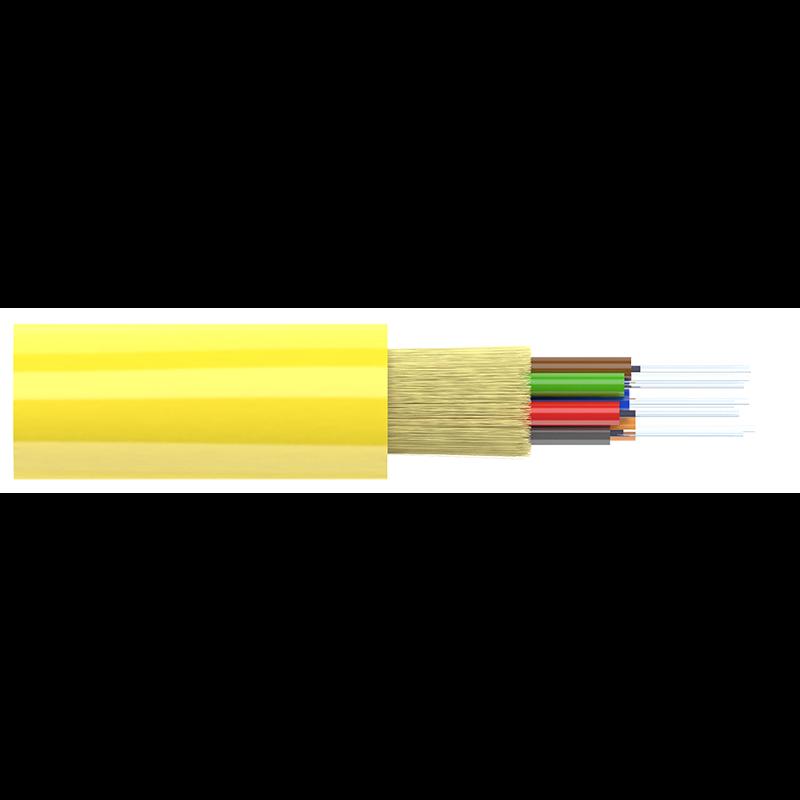 Кабель оптический Alpha Mile Distribution, 08 волокон, LSZH