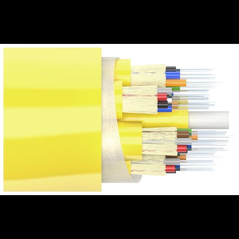 Кабель оптический Alpha Mile Distribution, 48 волокон, LSZH