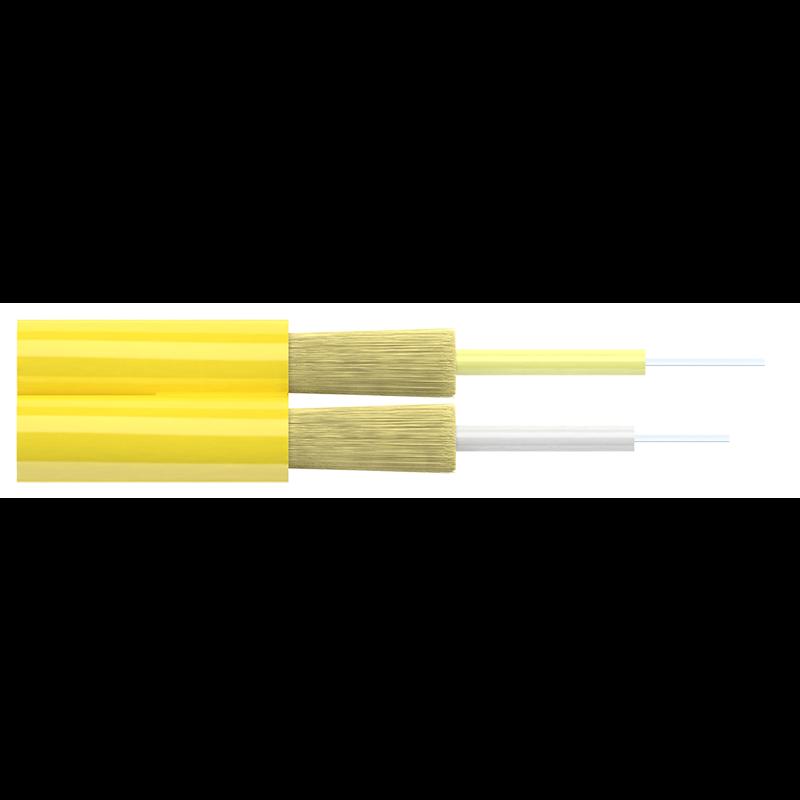 Кабель оптический Alpha Mile Distribution, 02 волокна 657A1, Duplex, LSZH