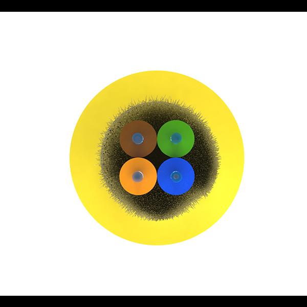 Кабель оптический Alpha Mile Distribution, 04 волокна 657A1, LSZH