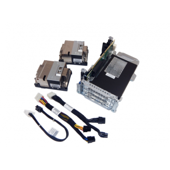Комплект для установки двухслотового графического адаптера в сервер HP DL380p Gen8