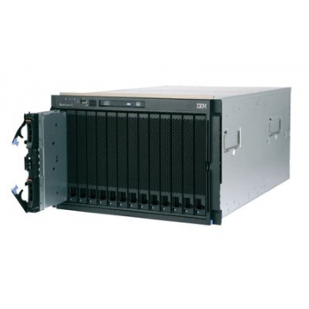 Блейд-система IBM BladeCenter E, 14 блейд-серверов HS22: 2 процессора Intel Xeon Quad-Core L5520 2.26GHz, 24GB RAM, 292GB SAS