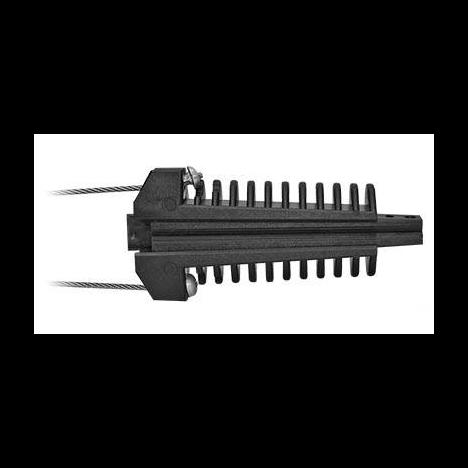 Зажим анкерный клиновой Alpha Mile 806-01-35 (малый, пластиковый)
