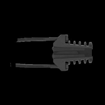 Зажим анкерный клиновой Alpha Mile 806-01-46-10 ( пластиковый)