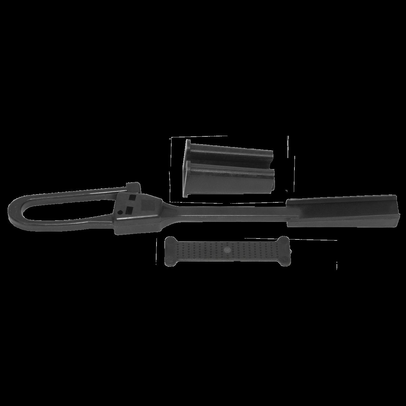 Зажим анкерный Alpha Mile для кабеля типа FTTH (упаковка 10 шт)