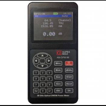 Измеритель оптической мощности Alpha Mile DWDM, 96 каналов
