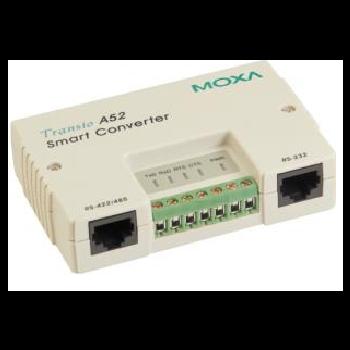 A52-DB9F w/ Adapter Преобразователь интерфейсов RS-232 в RS-422/485, разъем DB9 MOXA