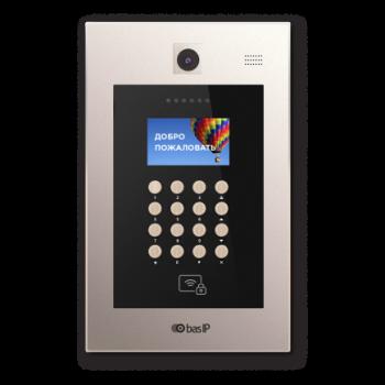 Вызывная панель IP-домофона BAS-IP AA-09B Gold