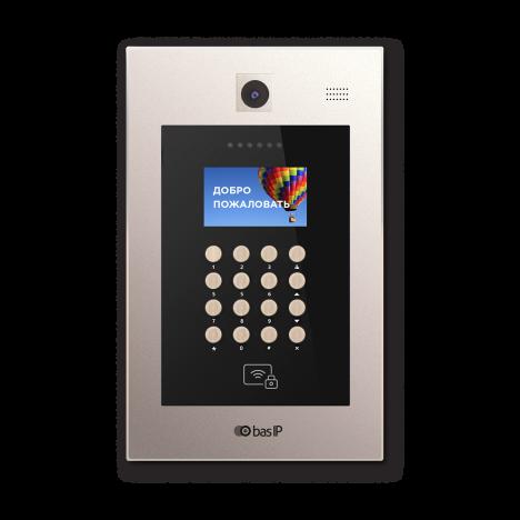 Вызывная панель IP-домофона BAS-IP AA-09BV Gold гибрид