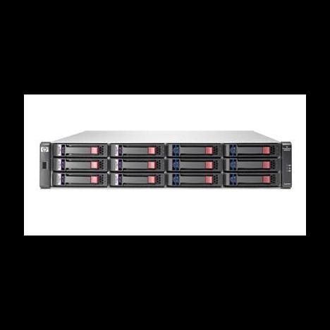 "Дисковый массив HP StorageWorks 2012i 1GbE iSCSI Dual 3.5"""