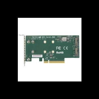 Адаптер Supermicro 2x M.2 SSD NVMe