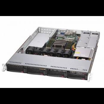 "Платформа Supermicro 1U AS-1014S-WTRT, Один процессор AMD Epyc 7002, DDR4, 4x3,5"" HDD SATA, 2x10GBase-T"