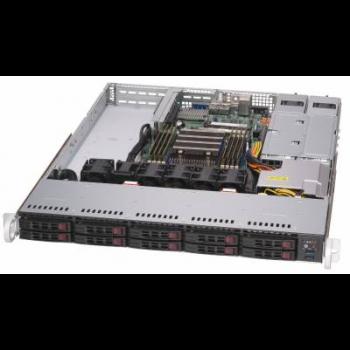 "Платформа Supermicro 1U 1114S-WTRT, Один процессор AMD Epyc 7002, DDR4, 10x2,5"" HDD SATA, 2x10GBase-T"