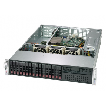 "Платформа Supermicro 2U AS-2113S-WTRT, Один процессор AMD Epyc 7002, DDR4, 16x2,5"" HDD SATA, 2x10GBase-T"