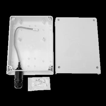 Уличный бокс AX-BOX, 230*170*77, IP67, гермоввод RG-45