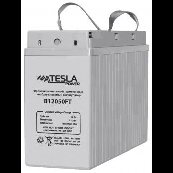 Фронт-терминальный герметичный необслуживаемый аккумулятор Tesla Power 12VDC 50Ач