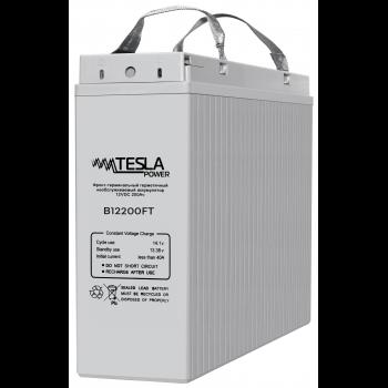 Фронт-терминальный герметичный необслуживаемый аккумулятор Tesla Power 12VDC 200Ач (уценка)