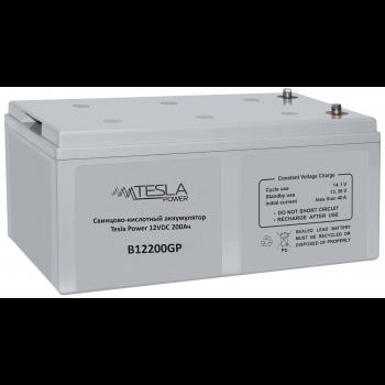 Свинцово-кислотный аккумулятор Tesla Power 12VDC 200Ач размер 496*259*220