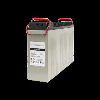 Фронт-терминальный герметичный необслуживаемый аккумулятор Tesla Power 12VDC 200Ач, уценка (серый)