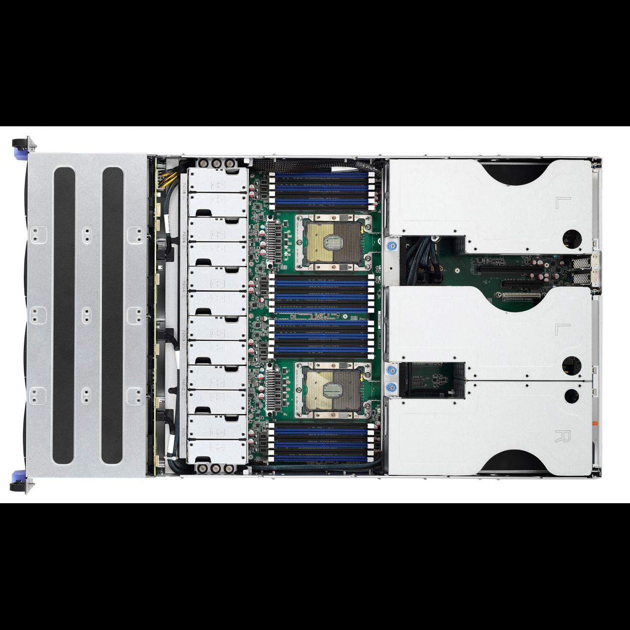 Серверная платформа Tyan Thunder SX B7102T76V12HR, 2U, Scalable, DDR4, 12xHDD, резервируемый БП
