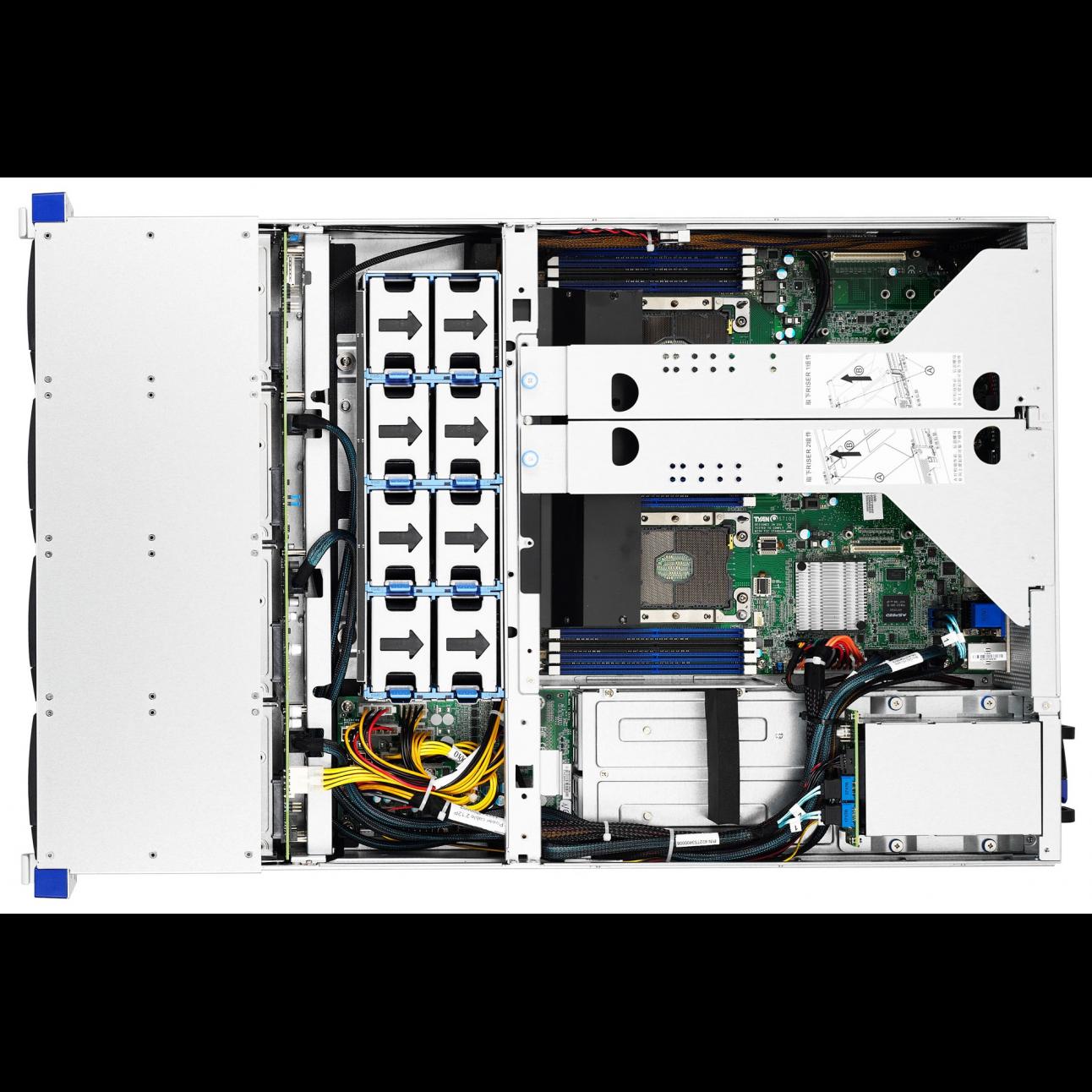 Серверная платформа Tyan Thunder SX B7106T70EV12HR, 2U, Scalable, DDR4, 12xHDD, резервируемый БП
