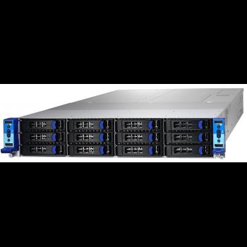 Серверная платформа Tyan Thunder CX B7108T200X4, 2U, Scalable, 4 ноды, DDR4, 12xHDD, резервируемый БП