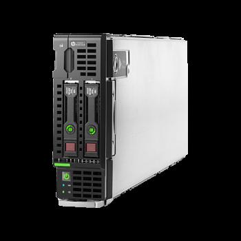 Шасси Блейд-сервера HP BL460c Gen9, до двух процессоров Intel Xeon E5-2600v3, 16 слотов DDR4, контроллер H244br, сетевой контроллер 10Gb 536FLB