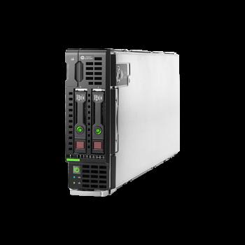 Блейд-сервер BL460c Gen8, 2 процессора Intel 8C E5-2660 2.20GHz, 48GB DRAM, P220i/512MB, 2x10Gb 554FLB, 2x300GB SAS
