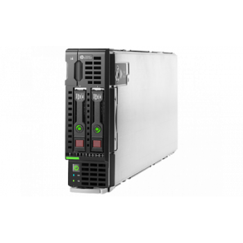 Блейд-сервер BL460c Gen8, 2 процессора Intel 10C E5-2680v2 2.80GHz, 128GB DRAM, P220i/512MB, 2x10Gb 554FLB