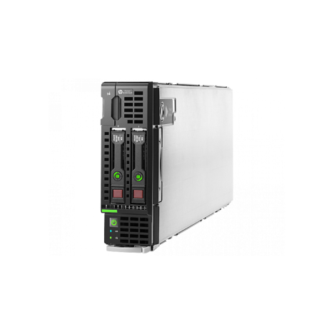 Блейд-сервер BL460c Gen8, до двух процессоров Intel Xeon E5-2600v1/v2, 16 слотов DDR3, P220i/512MB, 2x10Gb